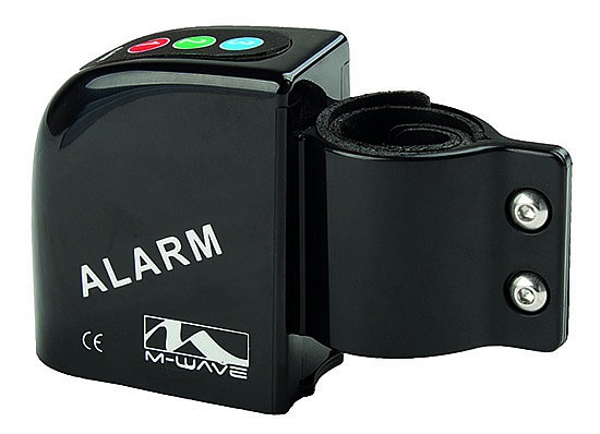 Alarm M-WAVE na jízdní kolo