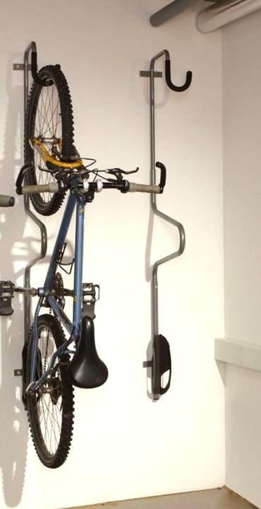 Držák kola na zeď MOTTEZ s možností uzamčení - pro 1 kolo
